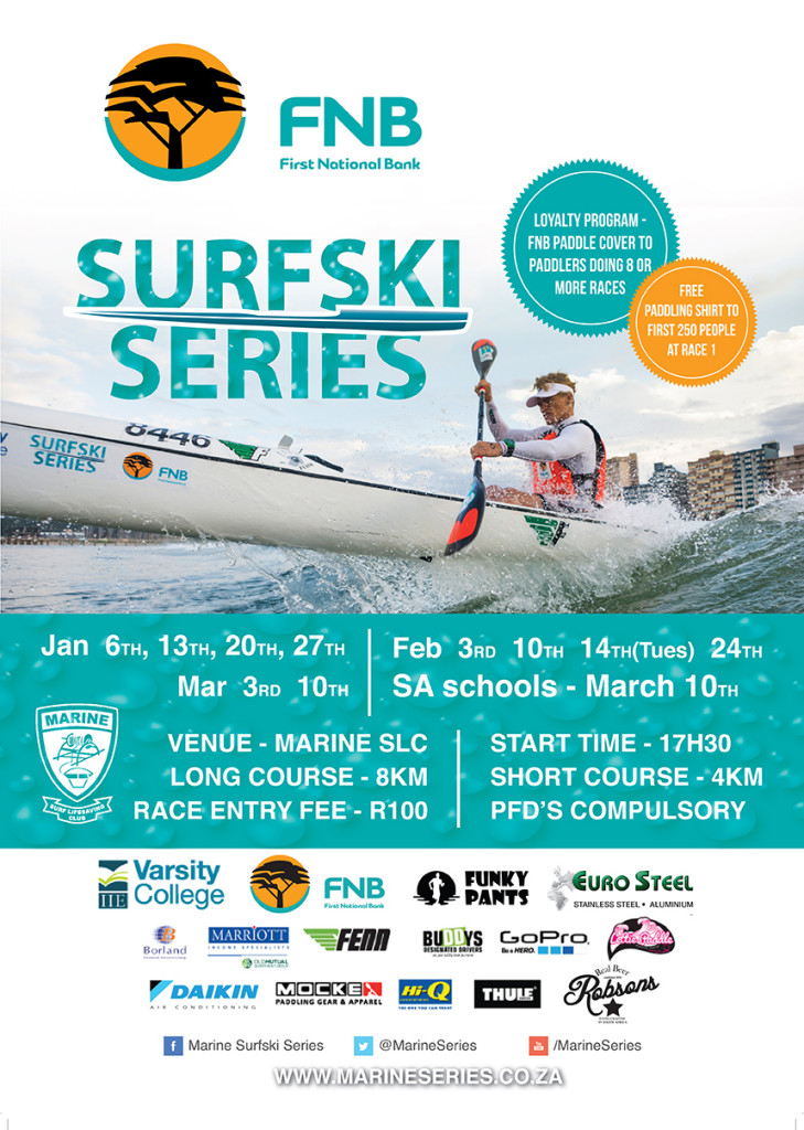 Funky Pants Surfski Challenge