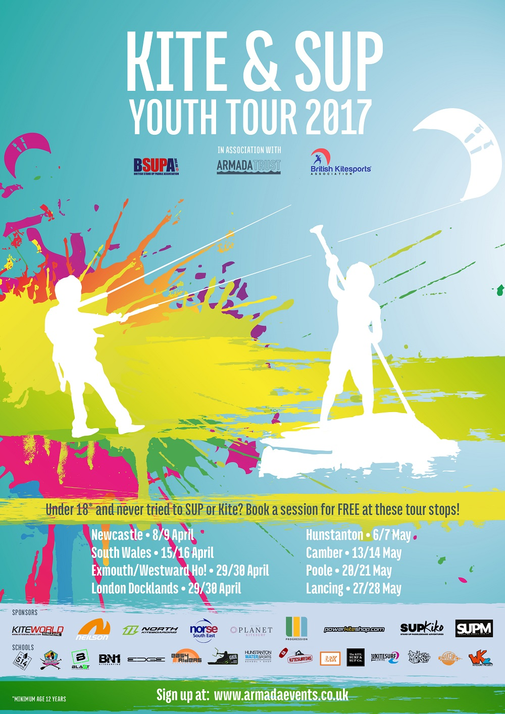 Kite & SUP Youth Tour#7