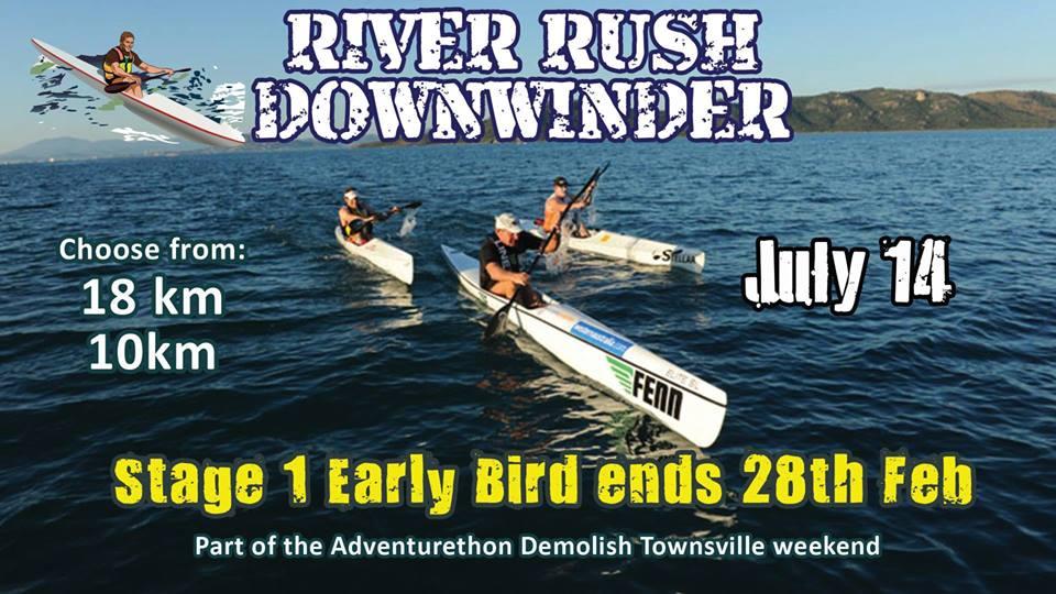 River Rush Downwinder