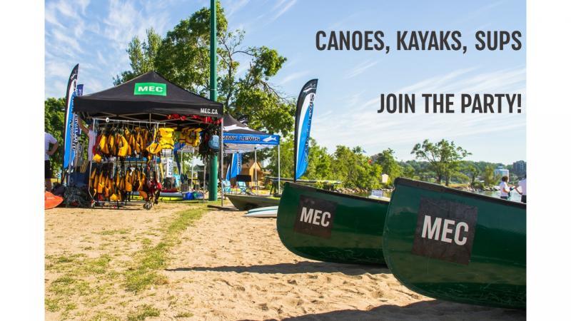 MEC Paddlefest Barrie