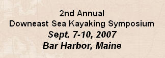 Downeast Sea Kayaking Symposium