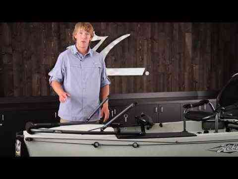 Video: ingridn2: Hobie H-Bar installation, Mirage Pro Angler