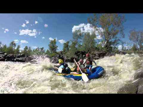 Video: Addison: FAMILY RAFTING & TUBING ON THE VAAL