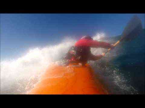 Video: amyannbesch: Kayak surfing at Pacific City