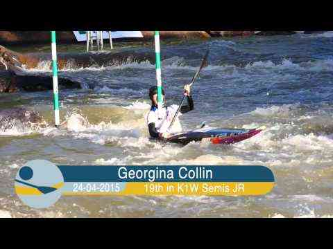 Video: Junior Semi finals Worlds Slalom Foz, Brazil
