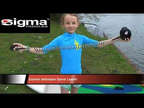 Video: AxelBischoff: SIGMA SUP Leash - SIREN SUPSURFING Stand Up Paddling