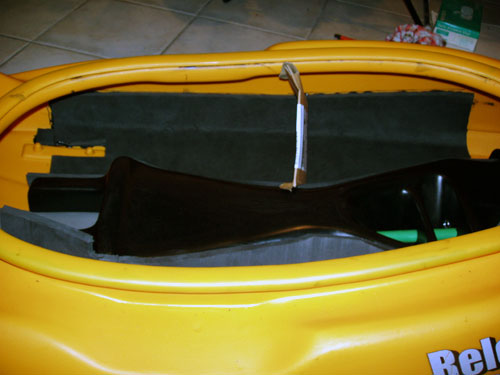 C1 Seat Kayak Conversion