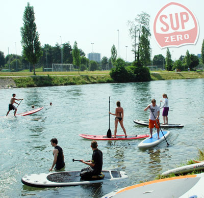 Limmat SUP n Grill