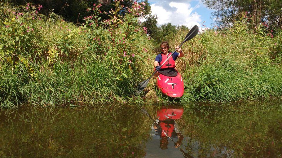 Ohře / Eger http://www.horydoly.cz/vodaci/kick-kayak-na-ohri-u-zatce.html