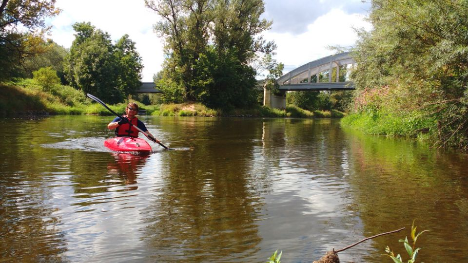 Ohře / Eger  - Žatec City / Saaz http://www.horydoly.cz/vodaci/kick-kayak-na-ohri-u-zatce.html