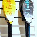 Nigel Foster paddles