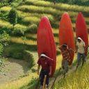 Paddling in Nepal