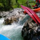 Whitewater kayaktrips with inflatable kayaks