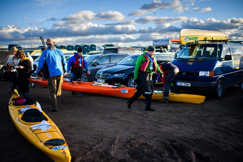 Võhandu Marathon is an excellent opportunity for a canoeing experience in Estonia.