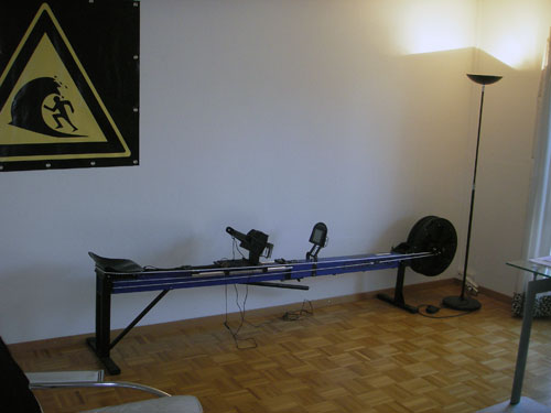 kayakpro speedstroke gym stowed