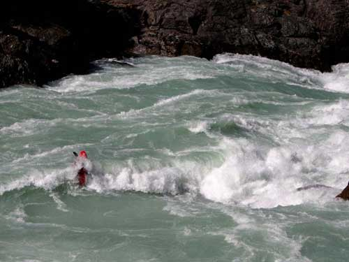 chile rivers - tyler curits on the rio baker