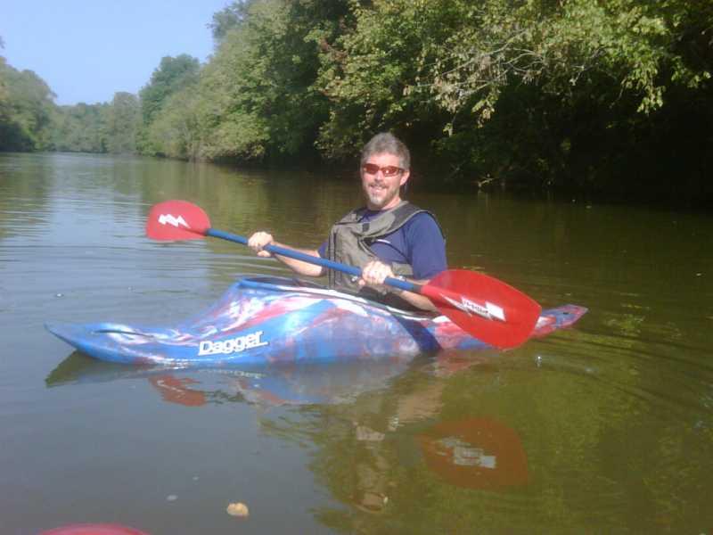 Dagger super ego red white blue for Fishing kayak under 300