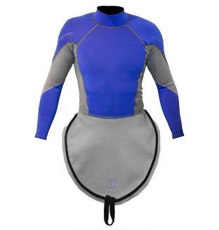 K1 Ultra Stretch Neoprene S/S Race-Lite Combi Top attached to K1 - 4794_k1lsneoblue_1291805108