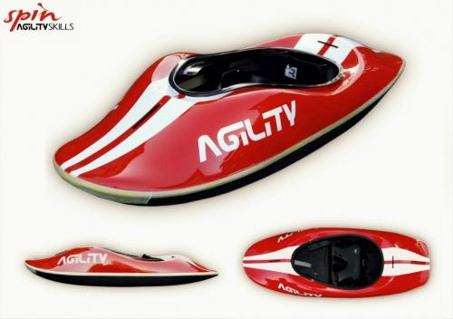 Agility Skills Spin M - _4-1333871305