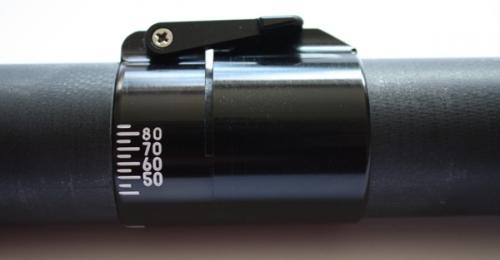 Pro Glass Blades on a Straight Black Glass Shaft - 14637_proglassbluemeasure-1416982926