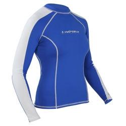 Women's HydroSilk Shirt - L/S - 4833_longbluewhite_1264119648