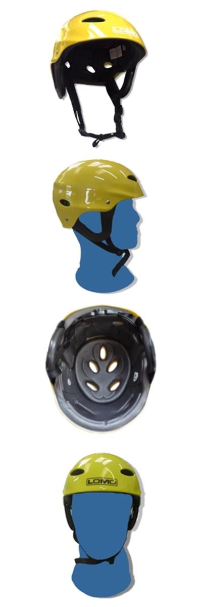 Kayak Helmet - 9991_KayakHelmetYellow_1289407798