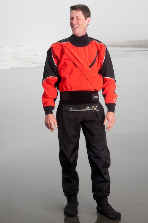GORE-TEX® Meridian Dry Suit with Relief Zipper and Socks - Limited Edition - _gmer-meridian-w-relief-zipper-chili-le-1363082538