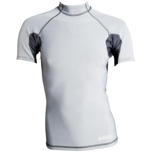 Hydrogen Short Sleeve Neoprene Top - _hydrogenshortneoprene-1421658233