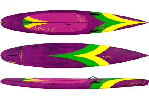 "Art in Surf Matero Race 12'6"" x 26"" - _maestroa-1446484228"