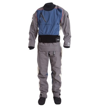 Icon Rear Entry Dry Suit with Relief Zipper and Socks - Men - _icon-drysuit-denim-small-1422203555