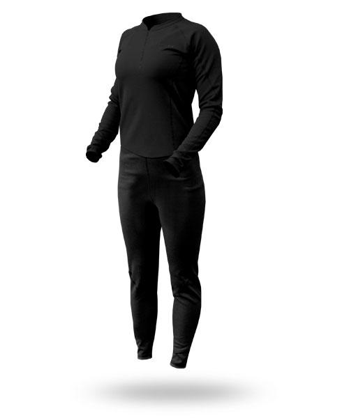 Hot Fuzz: Women's Fleece Unisuit - 5973_hotfuzzonesie_1273084893