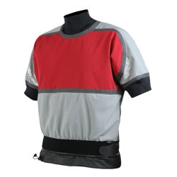 Motion Shorty Soft Shell Jacket - 4903_motionshortyredgrey_1264306612