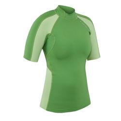Women's HydroSkin Shirt - S/S - 5073_womenhydrogreen_1264598921