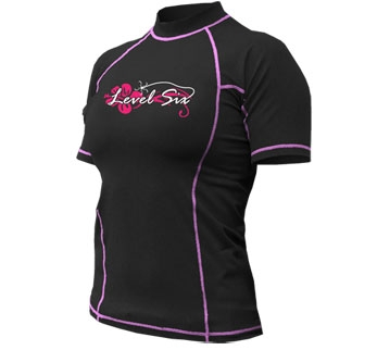 Lava Short Sleeve Womens - 4725_lavassblack_1291806940