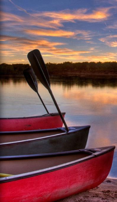 Recreational Canoe Paddle - _01_1291734547