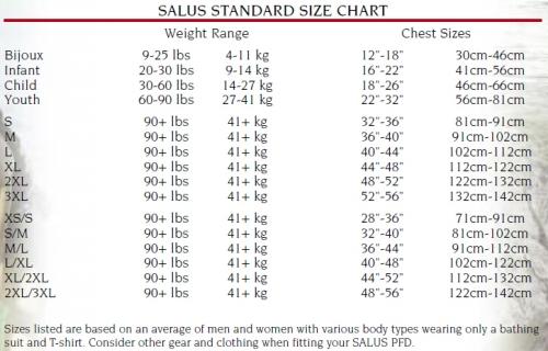 kiwi Contoured Performance Vest - 9302_sizechart_1285264043