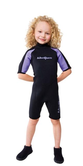 2mm Child's Neoprene Shorty One - 8543_S620CB51_1281723323