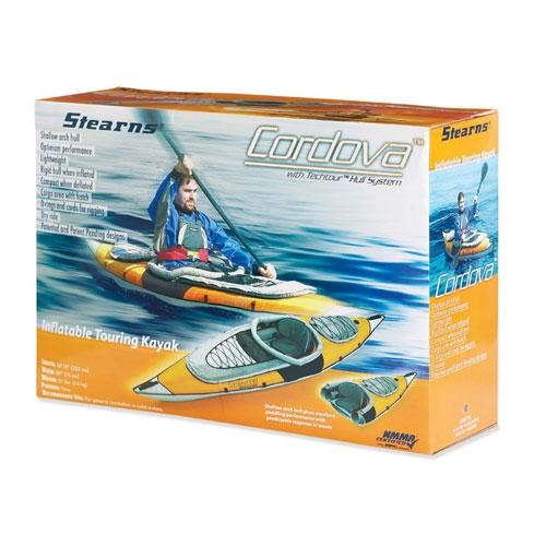 Stearns Cordova 8 Inflatable Kayak - 7971_B524YEL00000500c_1278694341