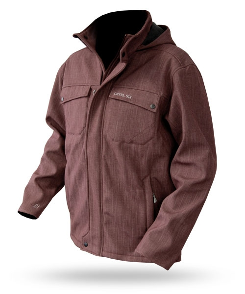 Concept: Men's Softshell Jacket - 5977_conceptburgundy_1273143788