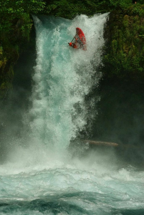 Team Jackson Kayak Welcomes 'Adrenaline' Rush Sturges - _rush-waterfall-1407552362