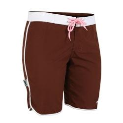 Women's Sierra Board Shorts - 4955_sierraboeardbrown_1264393696