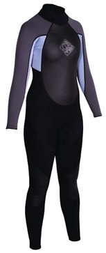 Women's Action One Piece Wetsuit - 3379_womensaction1piecena460450_1292002673