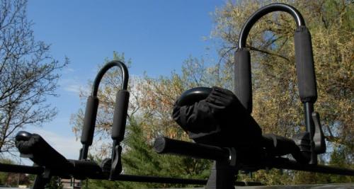 J-Stroke Folding Kayak Rack - _j-stroke-up-and-ready-1368274527