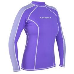 Women's HydroSilk Shirt - L/S - 4833_longpurple_1264119648