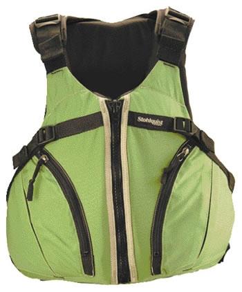 Cruiser Women's Hi-Back Vest - 5276_cruisergreen_1265629385