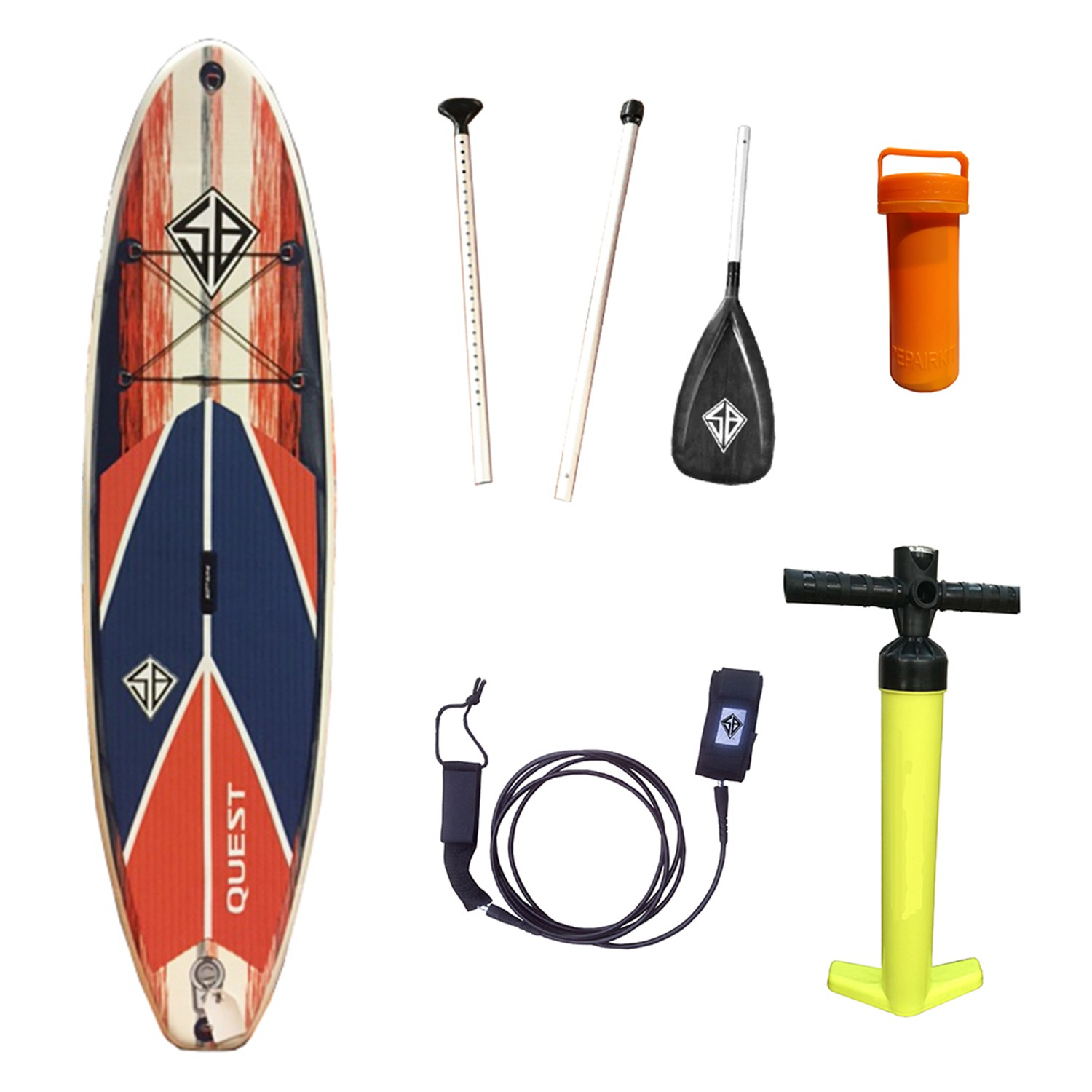 SB  Quest Inflatable SUP 10'0""