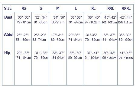 Women's Long Sleeve Top - 8079_sizeladiestop_1279289317