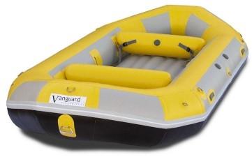 15' 4 Thwart Self-Bailing Raft