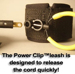 12 Power Clip Big Wave Straight Cord SUP Leashes - _01_1298393461