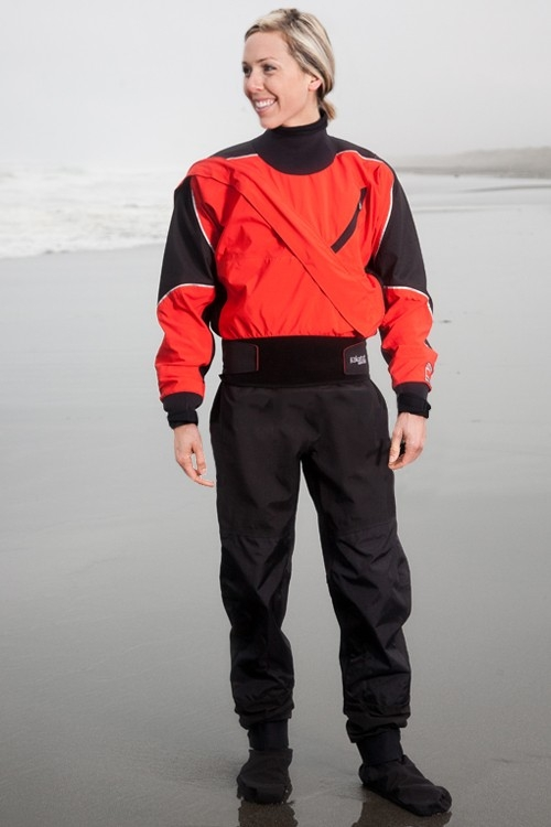 GORE-TEX® Meridian Dry Suit with Drop Seat and Socks - Women - Limited Edition - _wgmed-meridian-w-drop-seat-chili-1363081901